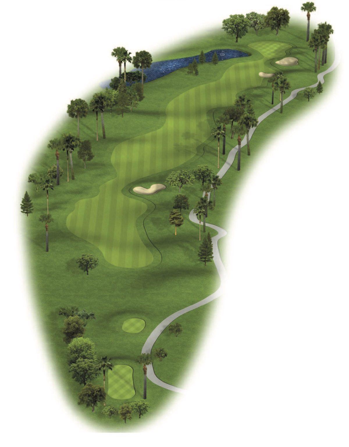Hole 3 Patriot Golf Course at The Wigwam Golf Resort near Phoenix